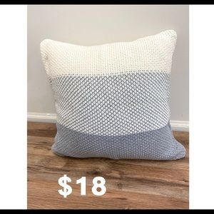 Other - Gray accent pillow